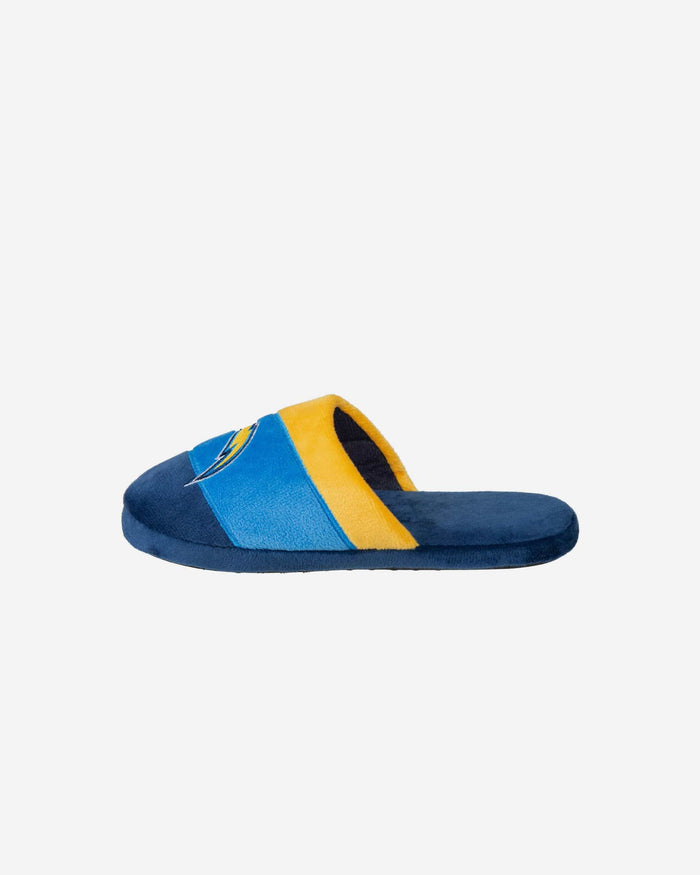 Los Angeles Chargers Youth Colorblock Slide Slipper FOCO - FOCO.com