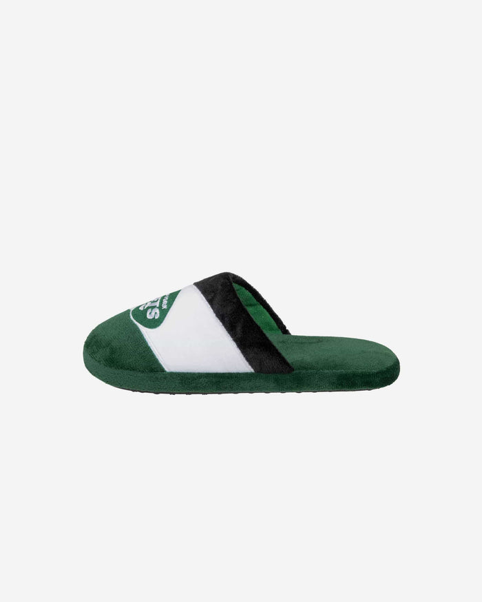 New York Jets Youth Colorblock Slide Slipper FOCO - FOCO.com