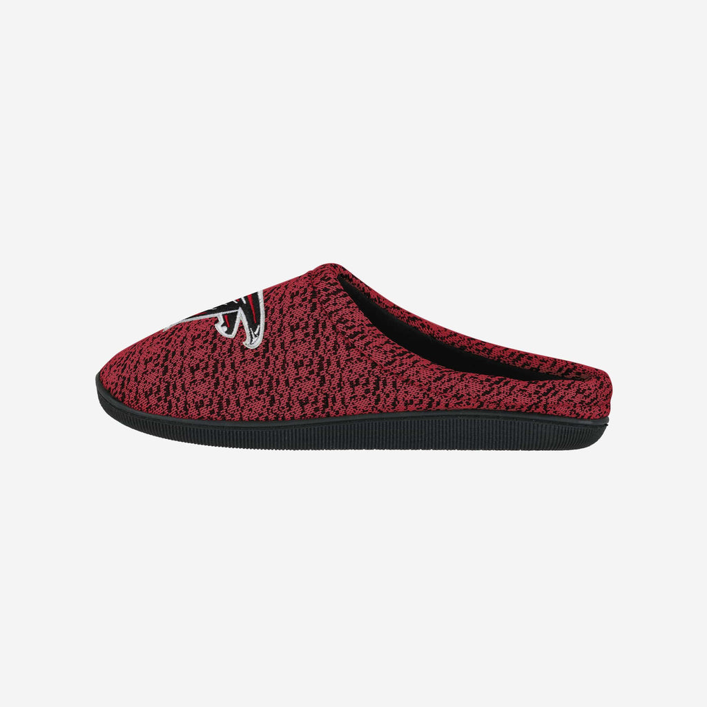 Atlanta Falcons Poly Knit Cup Sole Slipper FOCO - FOCO.com