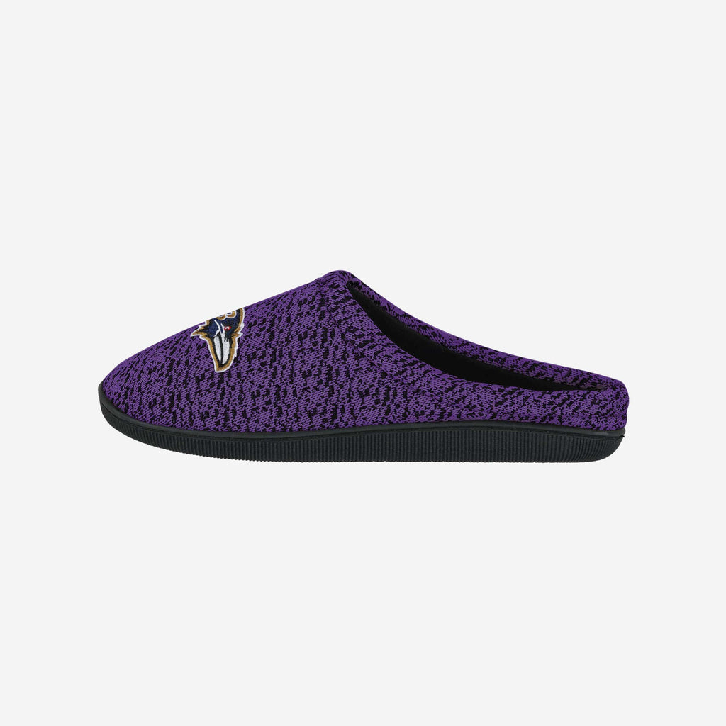 Baltimore Ravens Poly Knit Cup Sole Slipper