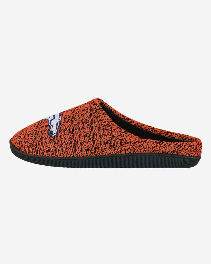 Denver Broncos Poly Knit Cup Sole Slipper FOCO - FOCO.com