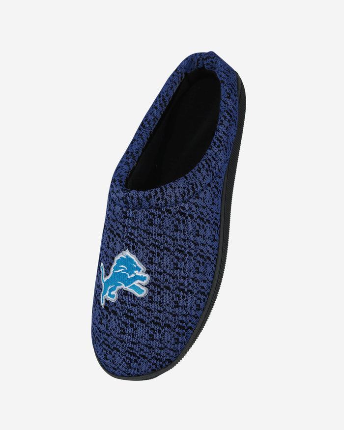 Detroit Lions Poly Knit Cup Sole Slipper FOCO - FOCO.com