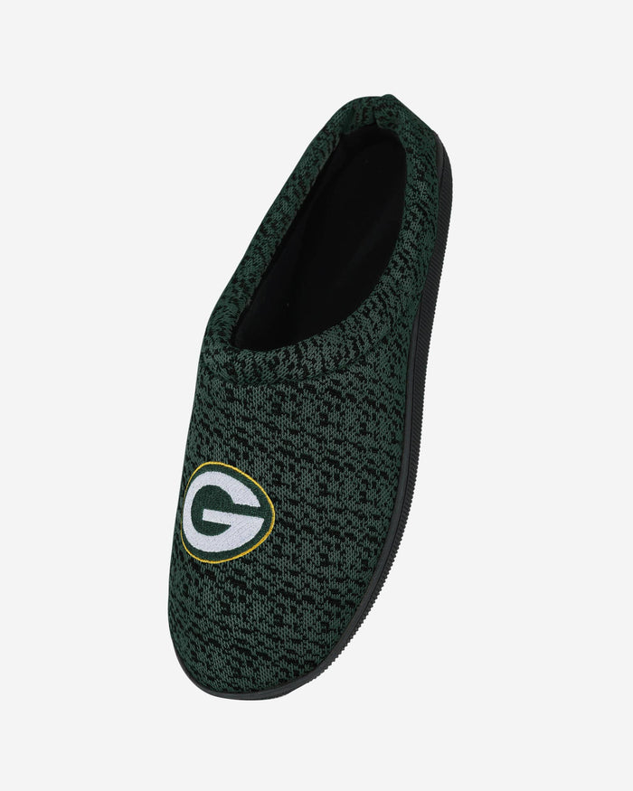 Green Bay Packers Poly Knit Cup Sole Slipper FOCO - FOCO.com
