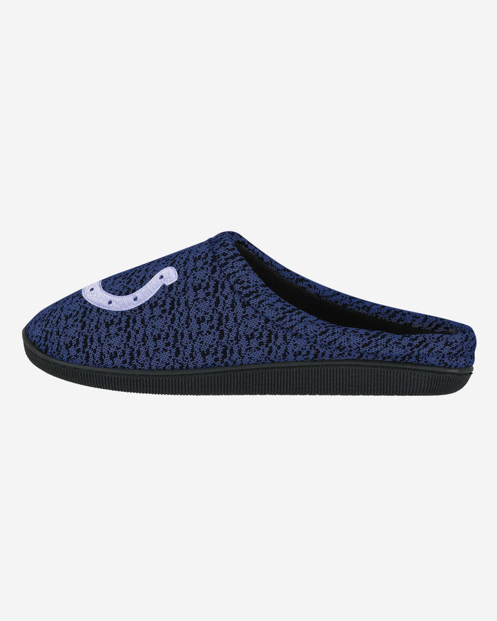 Indianapolis Colts Poly Knit Cup Sole Slipper FOCO - FOCO.com
