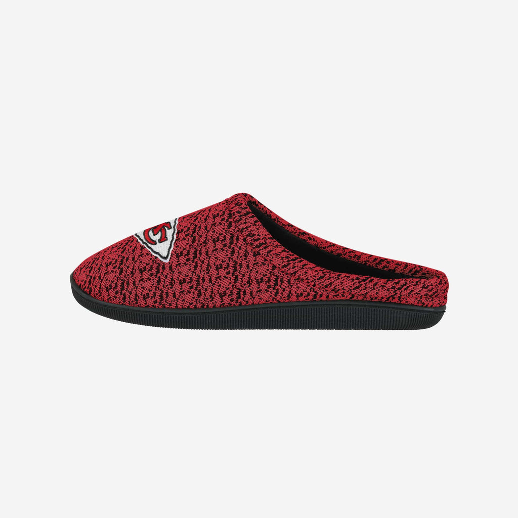 Kansas City Chiefs Poly Knit Cup Sole Slipper FOCO - FOCO.com