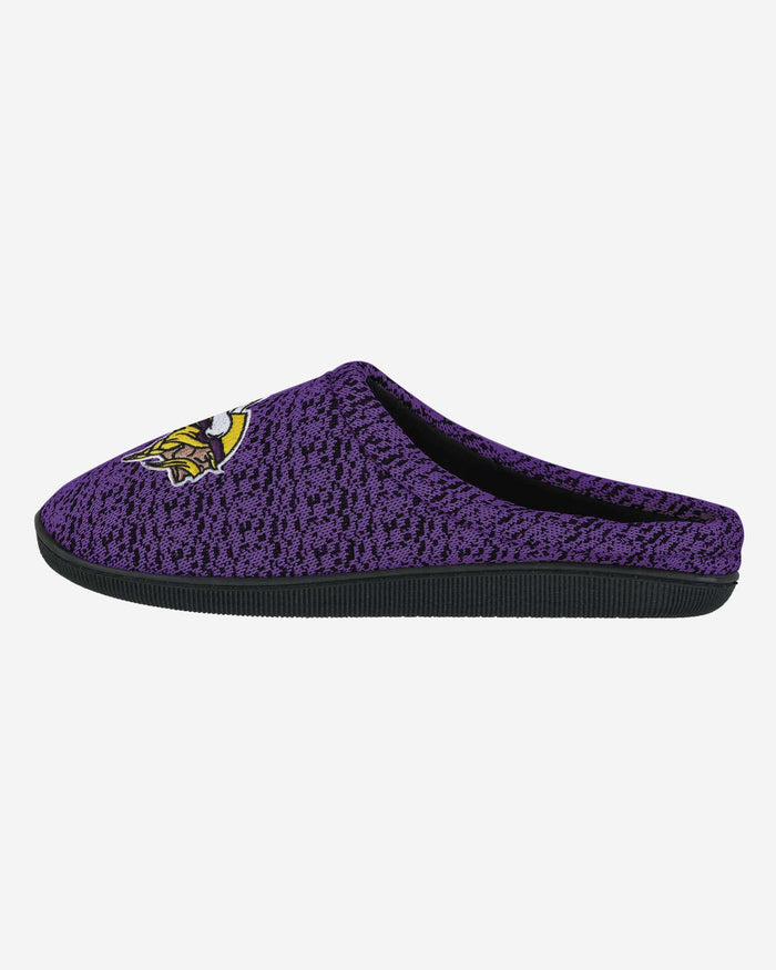 Minnesota Vikings Poly Knit Cup Sole Slipper FOCO - FOCO.com