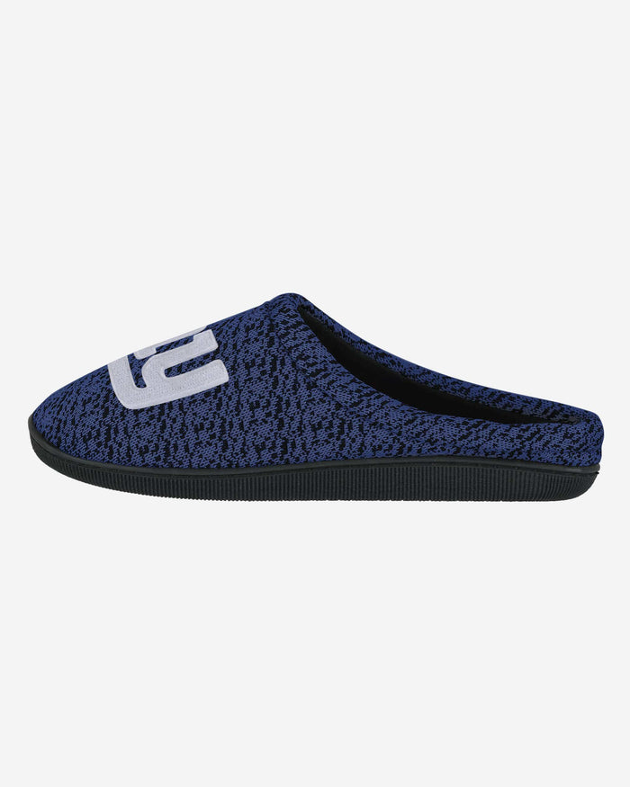New York Giants Poly Knit Cup Sole Slipper FOCO - FOCO.com