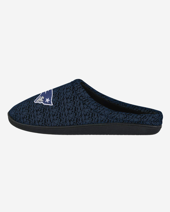 New England Patriots Poly Knit Cup Sole Slipper FOCO - FOCO.com