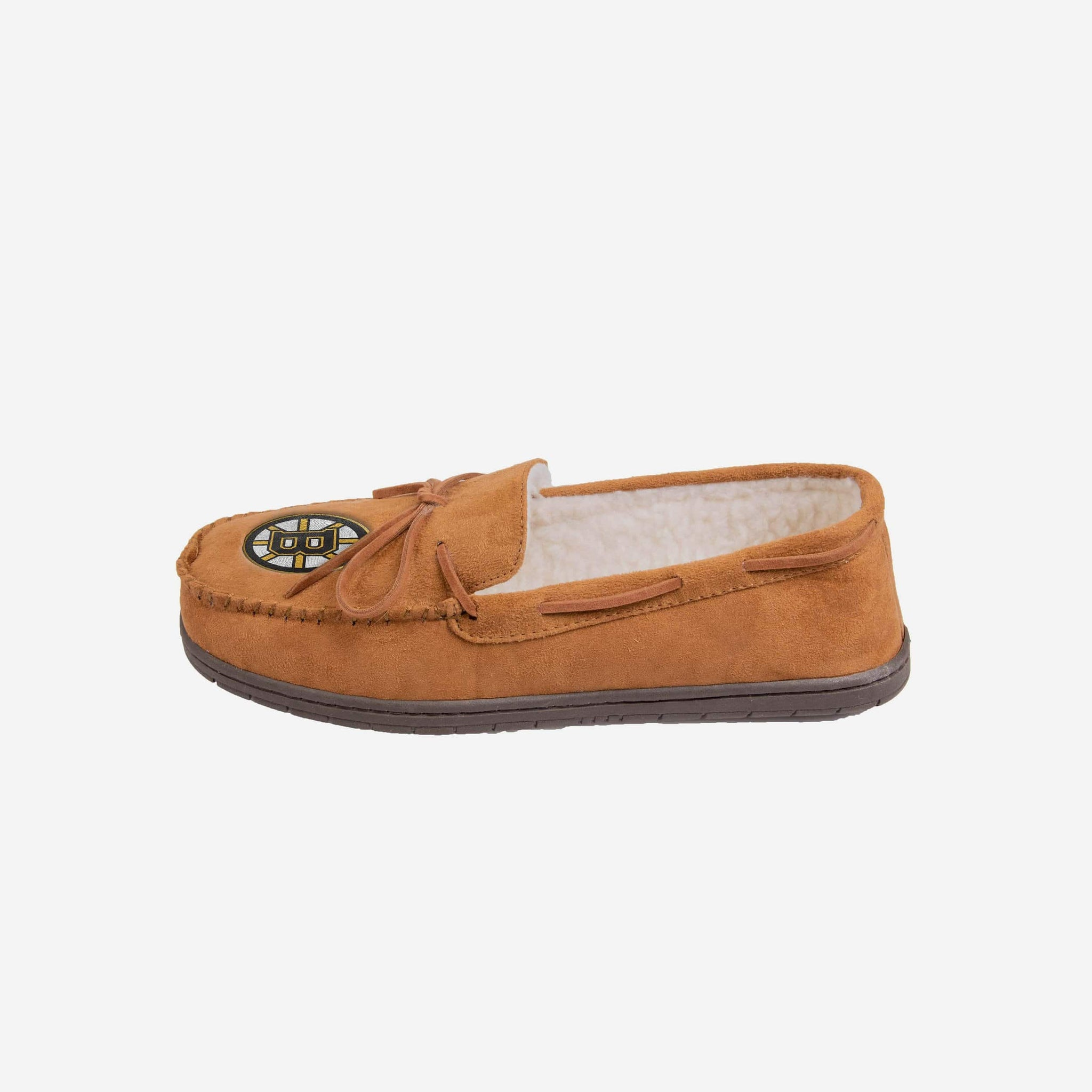 Boston Bruins Moccasin Slipper