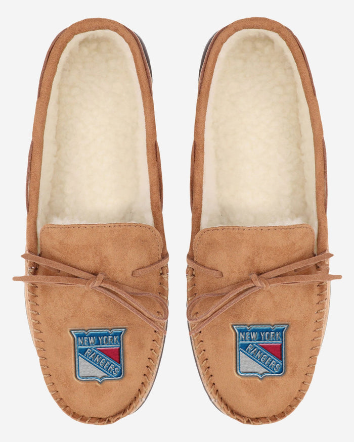 New York Rangers Moccasin Slipper FOCO - FOCO.com