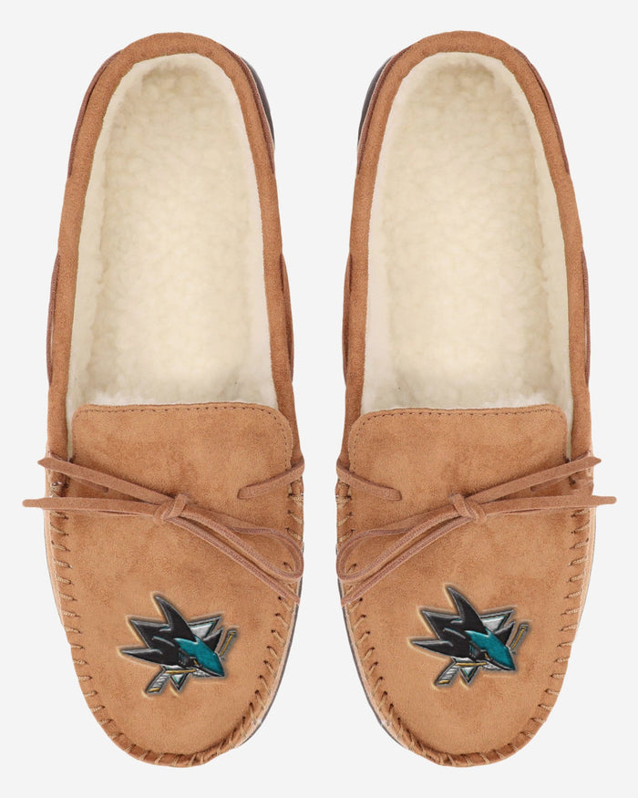 San Jose Sharks Moccasin Slipper FOCO - FOCO.com