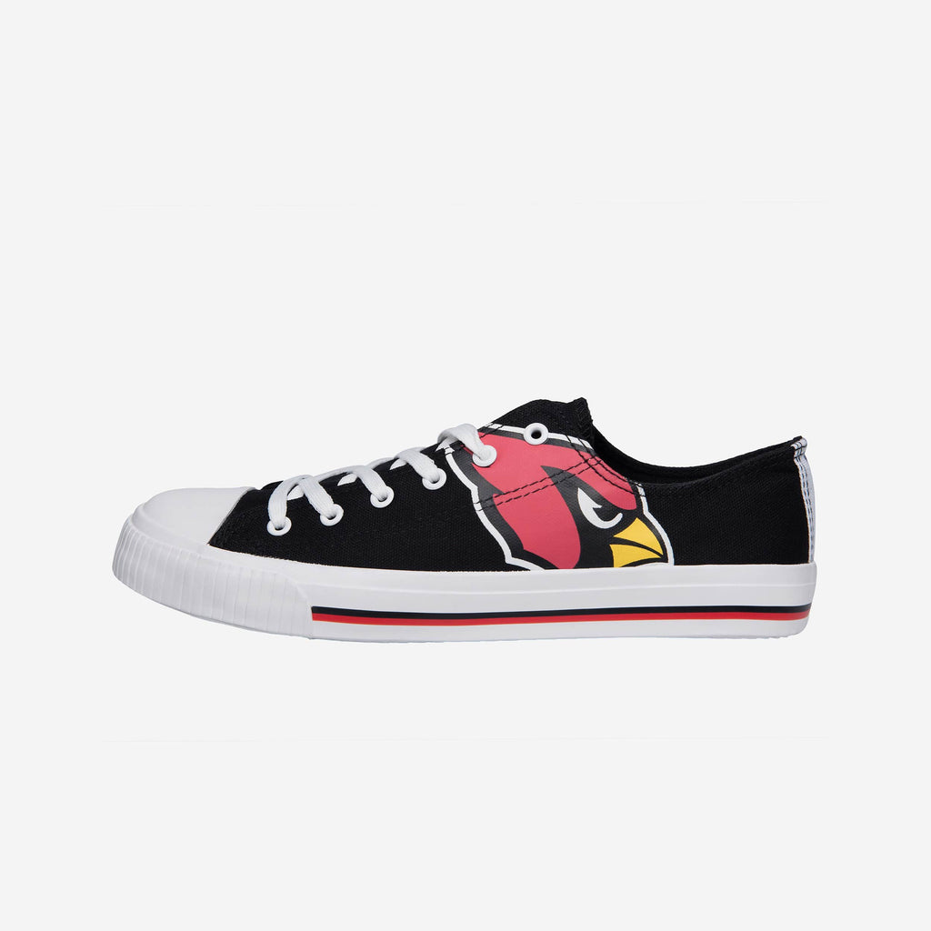 Arizona Cardinals Mens Low Top Big Logo Canvas Shoe