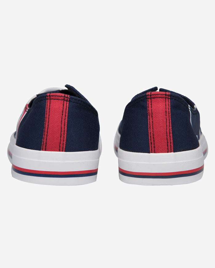 Houston Texans Mens Low Top Big Logo Canvas Shoe FOCO - FOCO.com