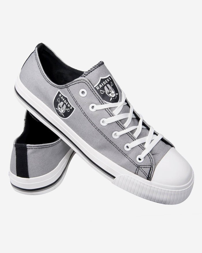 Football NFL NFL Oakland Raiders Mens Big Logo Low Top