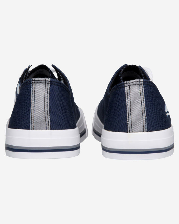 Los Angeles Rams Mens Low Top Big Logo Canvas Shoe FOCO - FOCO.com
