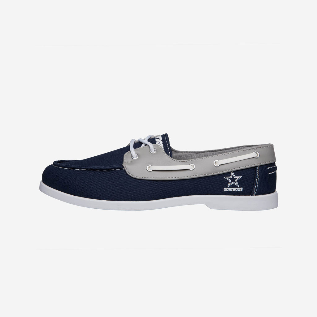 Dallas Cowboys Mens Side Logo Canvas Shoe