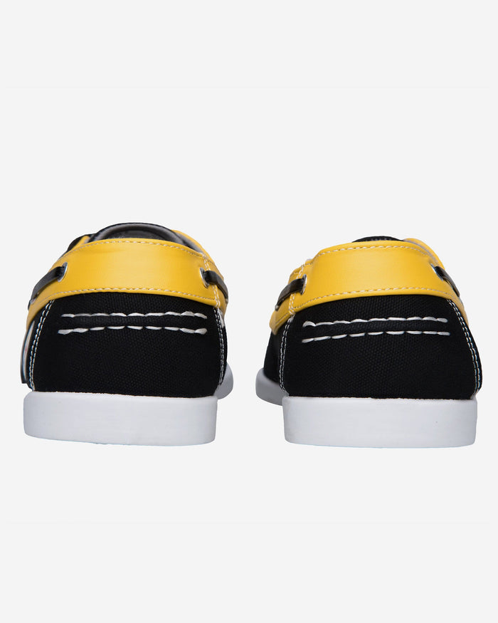 Pittsburgh Steelers Mens Side Logo Canvas Shoe FOCO - FOCO.com