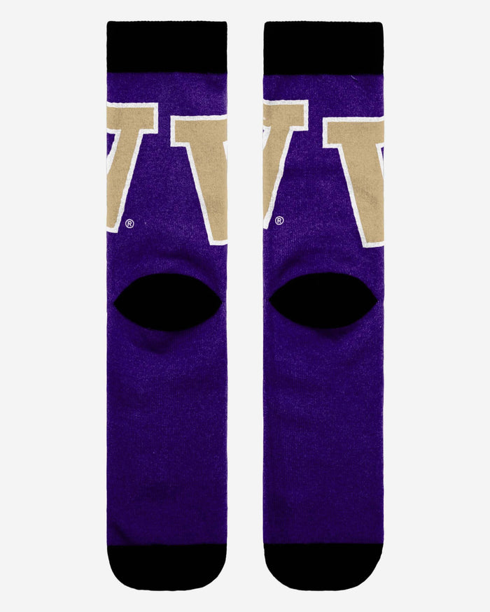 Washington Huskies Primetime Socks FOCO - FOCO.com