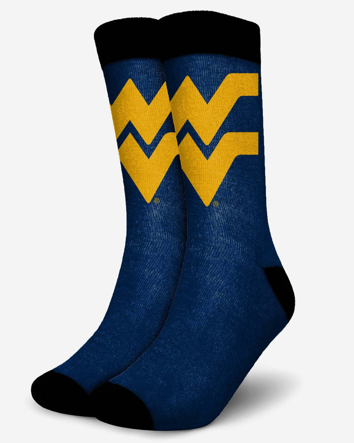 West Virginia Mountaineers Primetime Socks FOCO S/M - FOCO.com