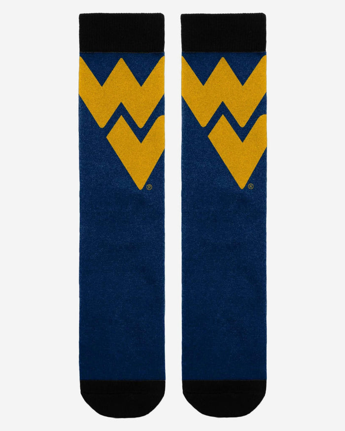 West Virginia Mountaineers Primetime Socks FOCO - FOCO.com