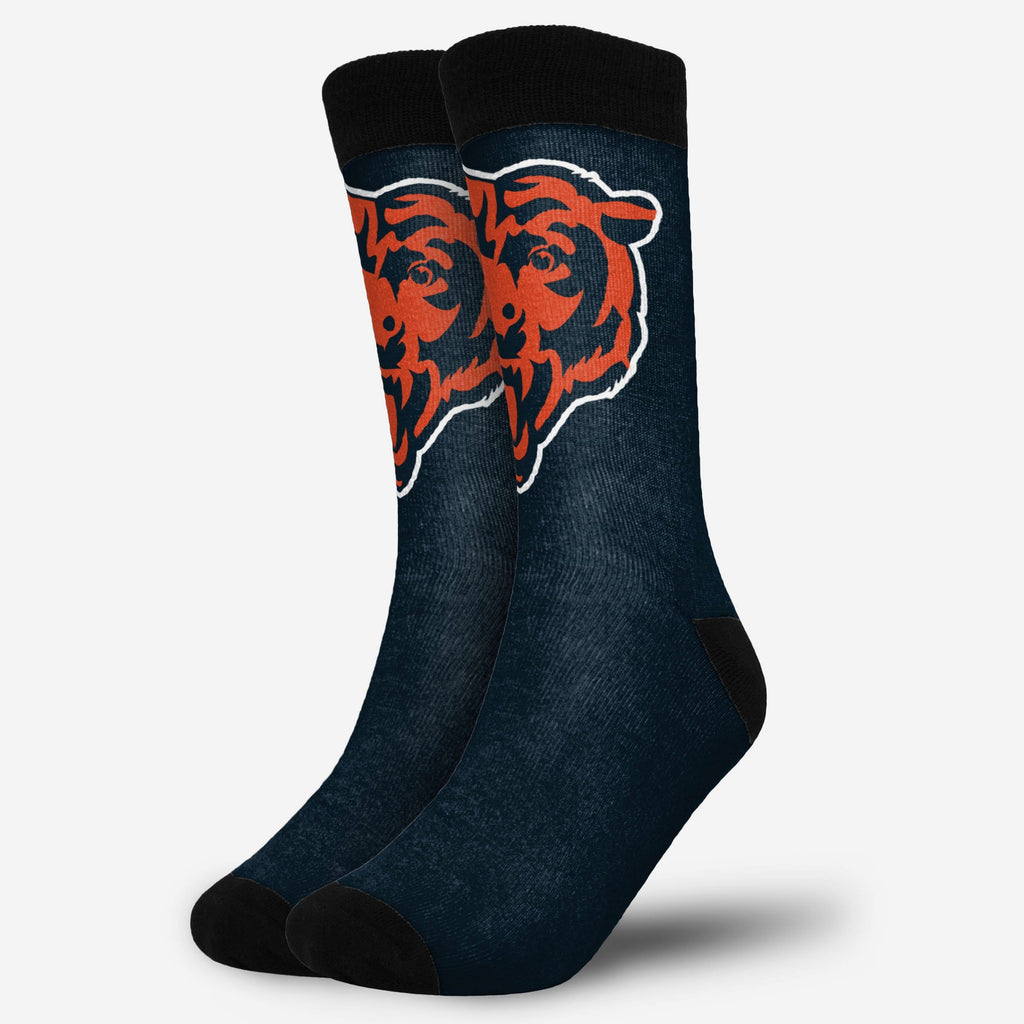 Chicago Bears Primetime Socks FOCO - FOCO.com