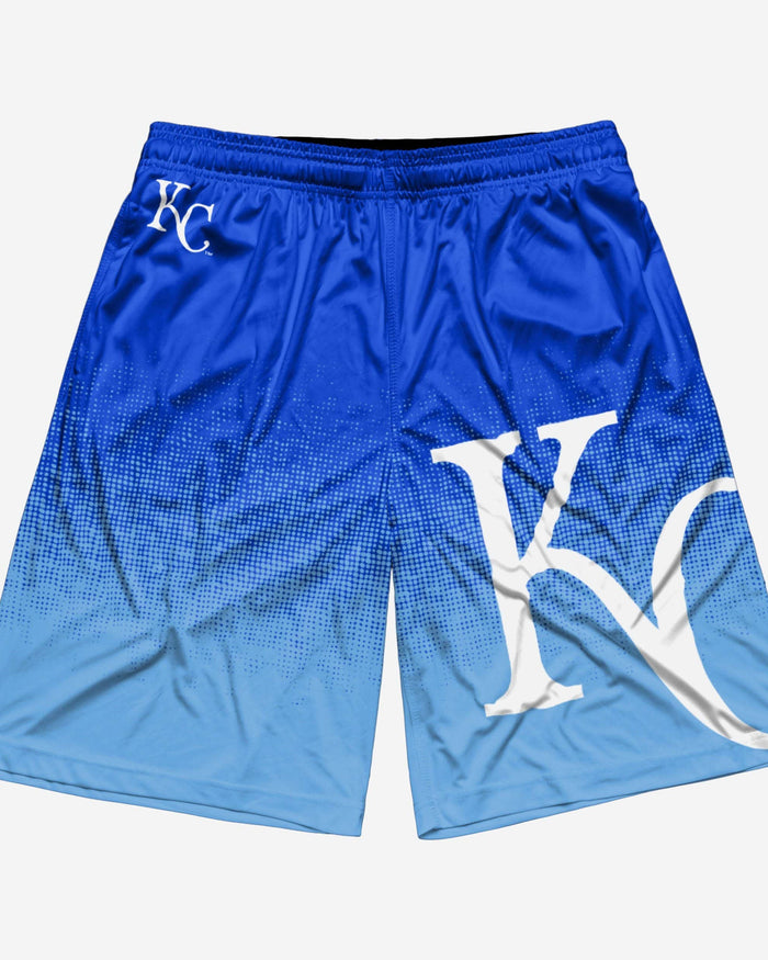 Kansas City Royals Gradient Polyester Short FOCO - FOCO.com