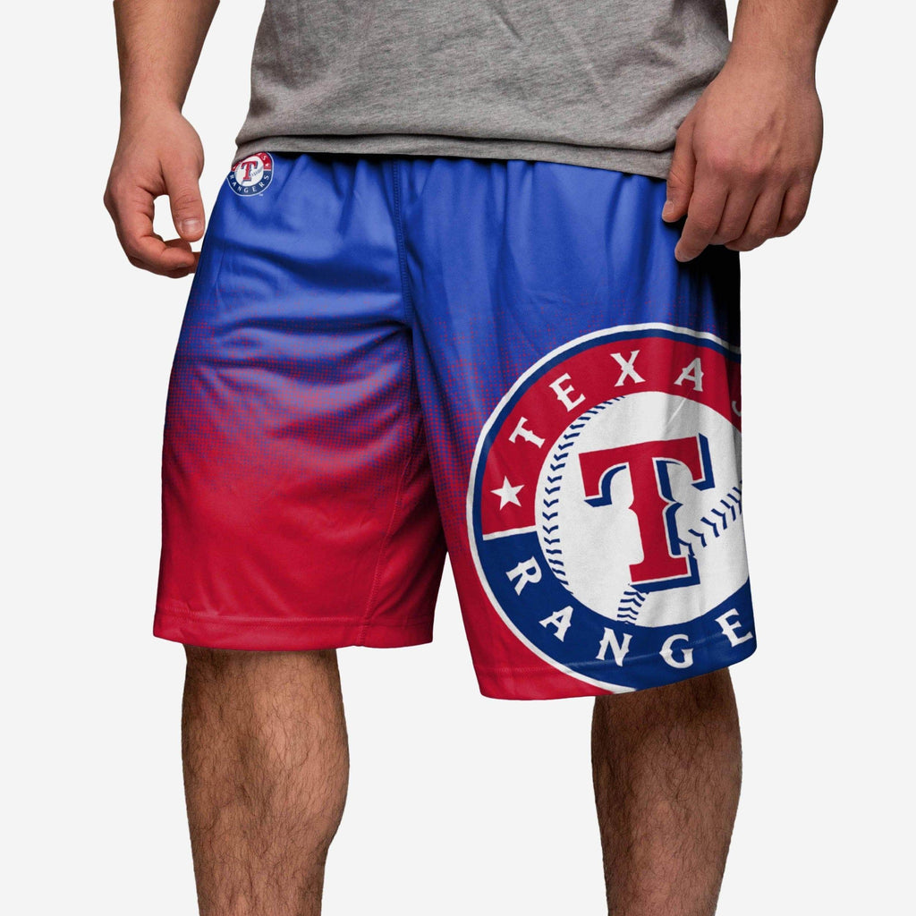 Texas Rangers Gradient Polyester Short