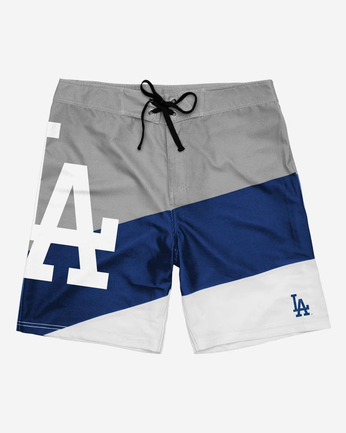 Los Angeles Dodgers Color Dive Boardshorts FOCO - FOCO.com