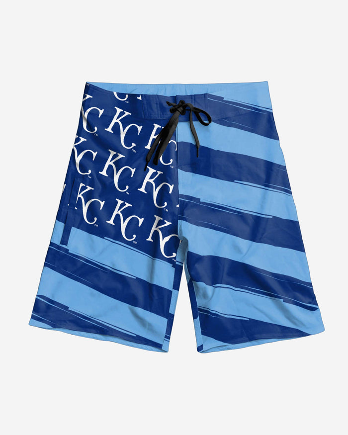 Kansas City Royals Diagonal Flag Boardshorts FOCO - FOCO.com