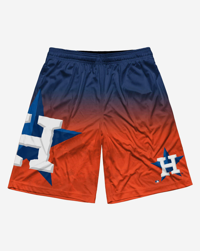 Houston Astros Gradient Big Logo Training Short FOCO - FOCO.com