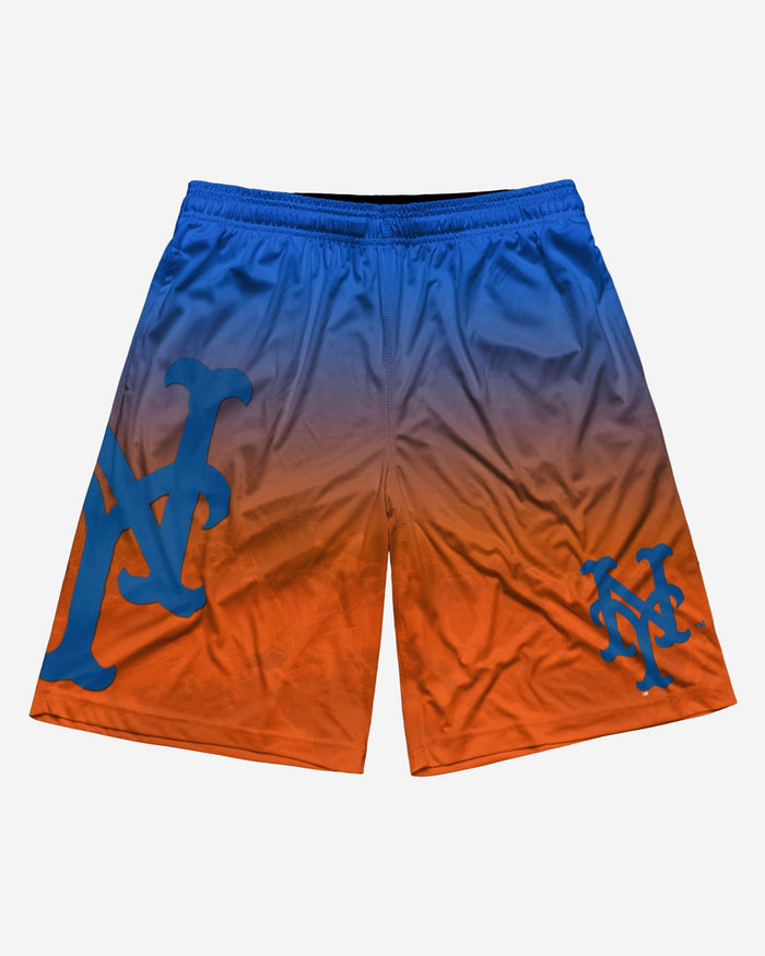 New York Mets Gradient Big Logo Training Short FOCO - FOCO.com