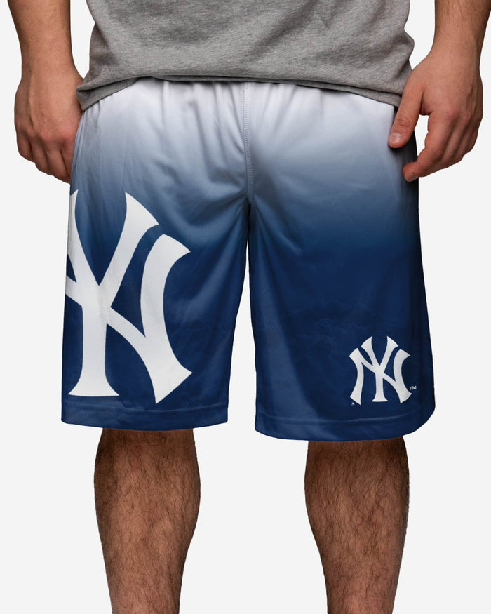 New York Yankees Gradient Big Logo Training Short FOCO - FOCO.com