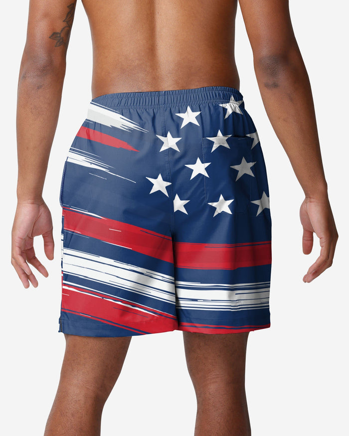 Chicago Cubs Americana Swimming Trunks FOCO - FOCO.com