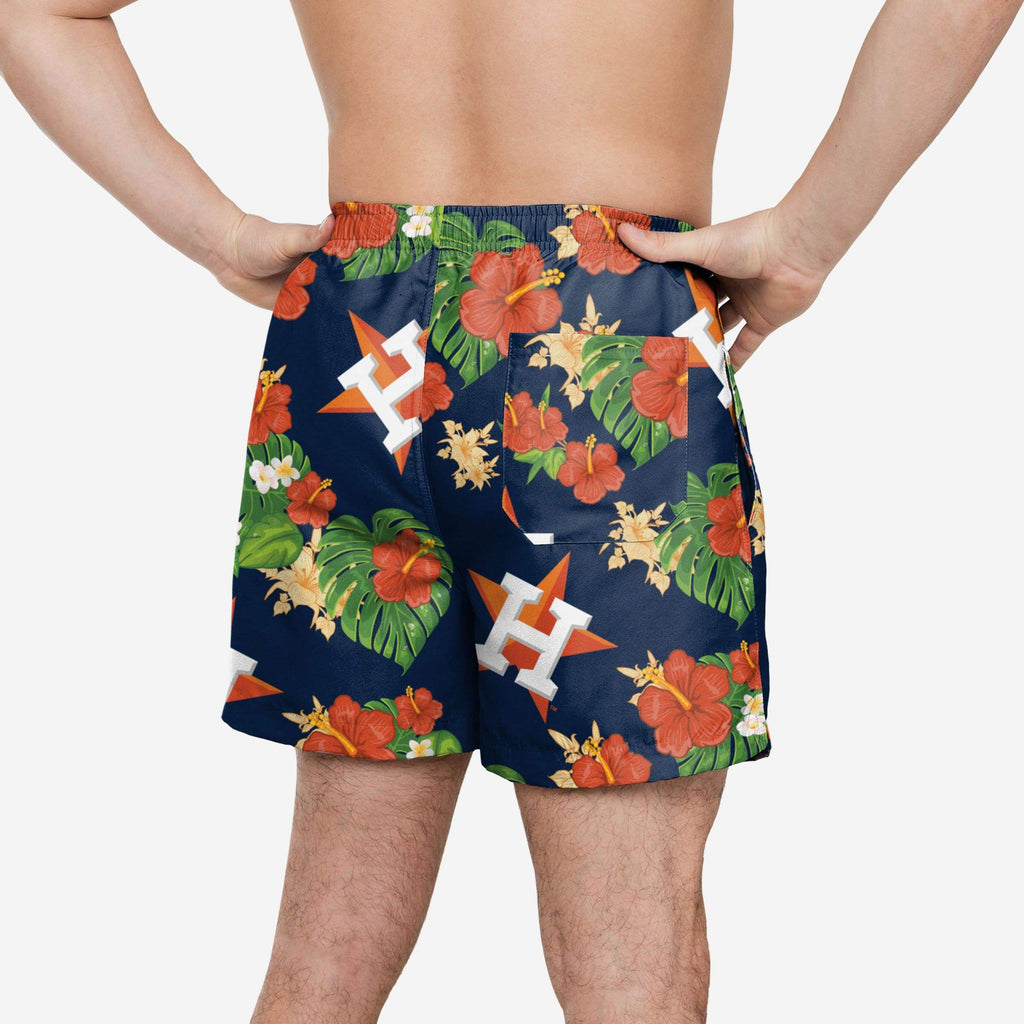Houston Astros Floral Swimming Trunks FOCO 2XL - FOCO.com