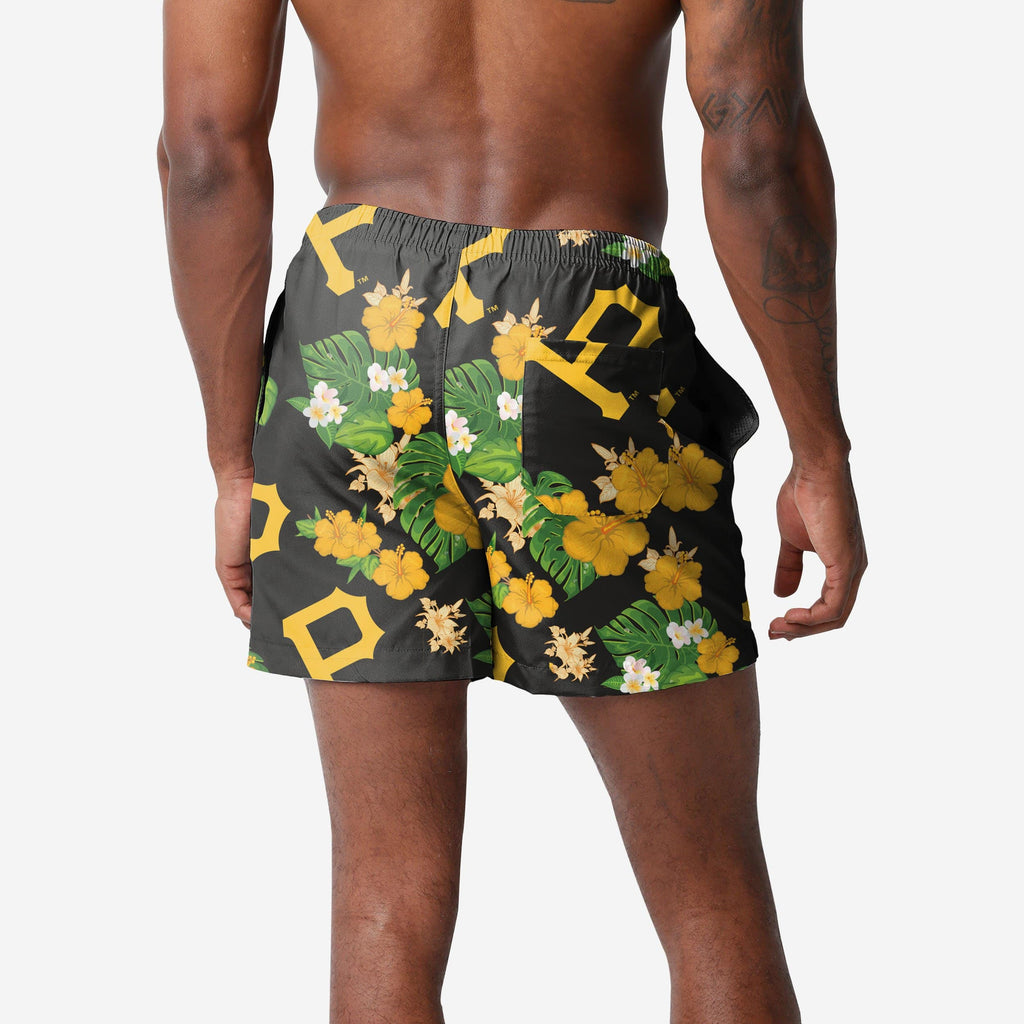 Pittsburgh Pirates Floral Swimming Trunks