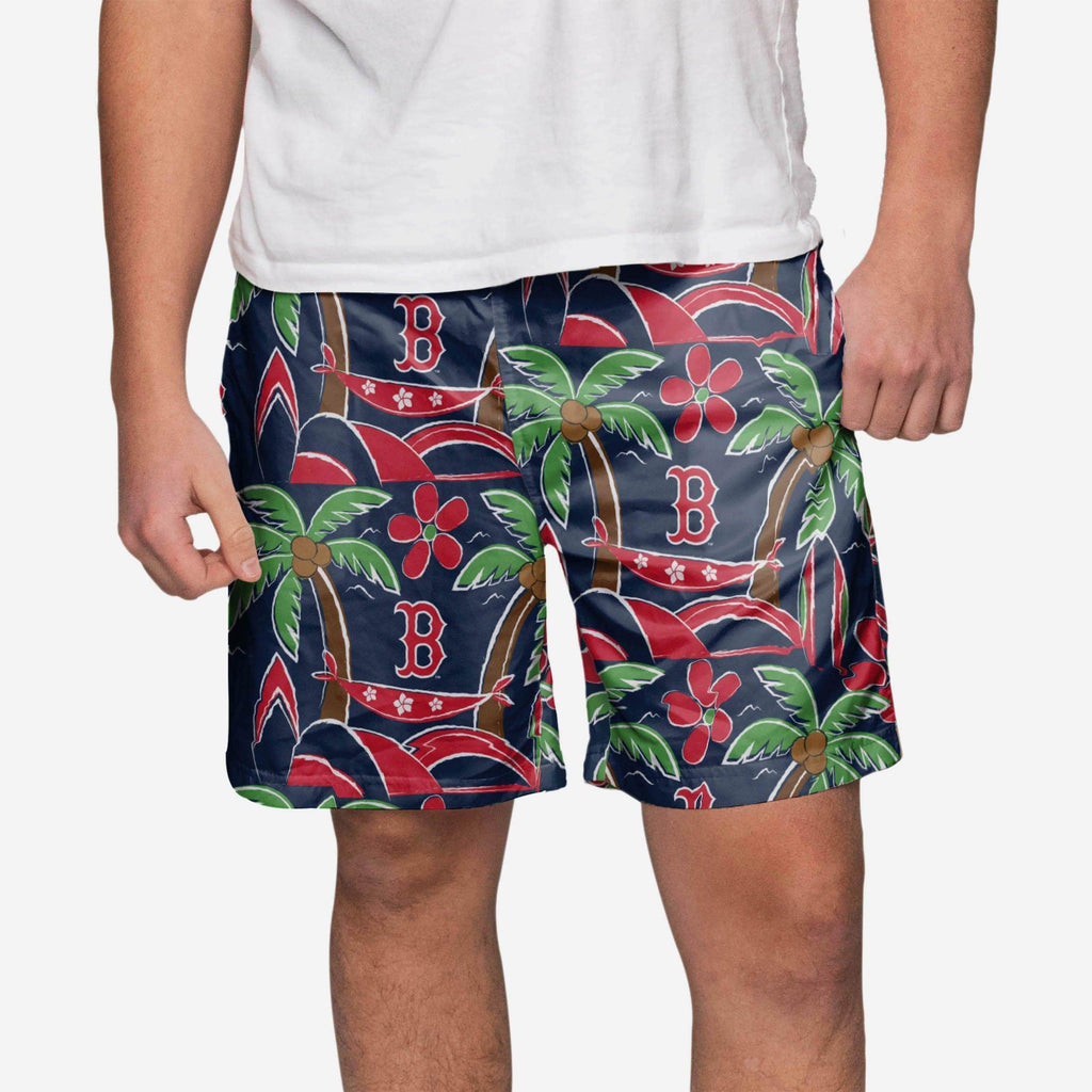 Boston Red Sox Tropical Swimming Trunks