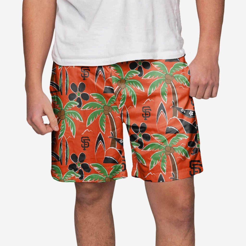 San Francisco Giants Tropical Swimming Trunks FOCO S - FOCO.com