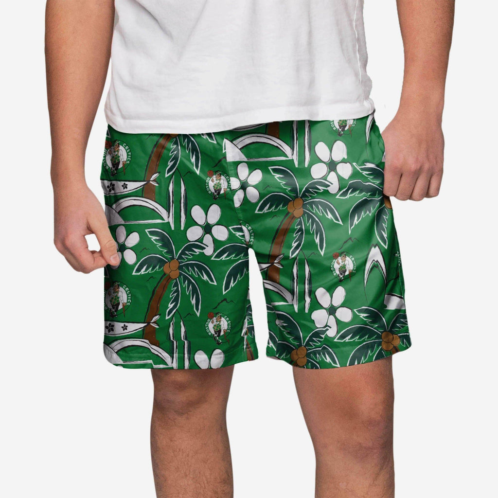 Boston Celtics Tropical Swimming Trunks