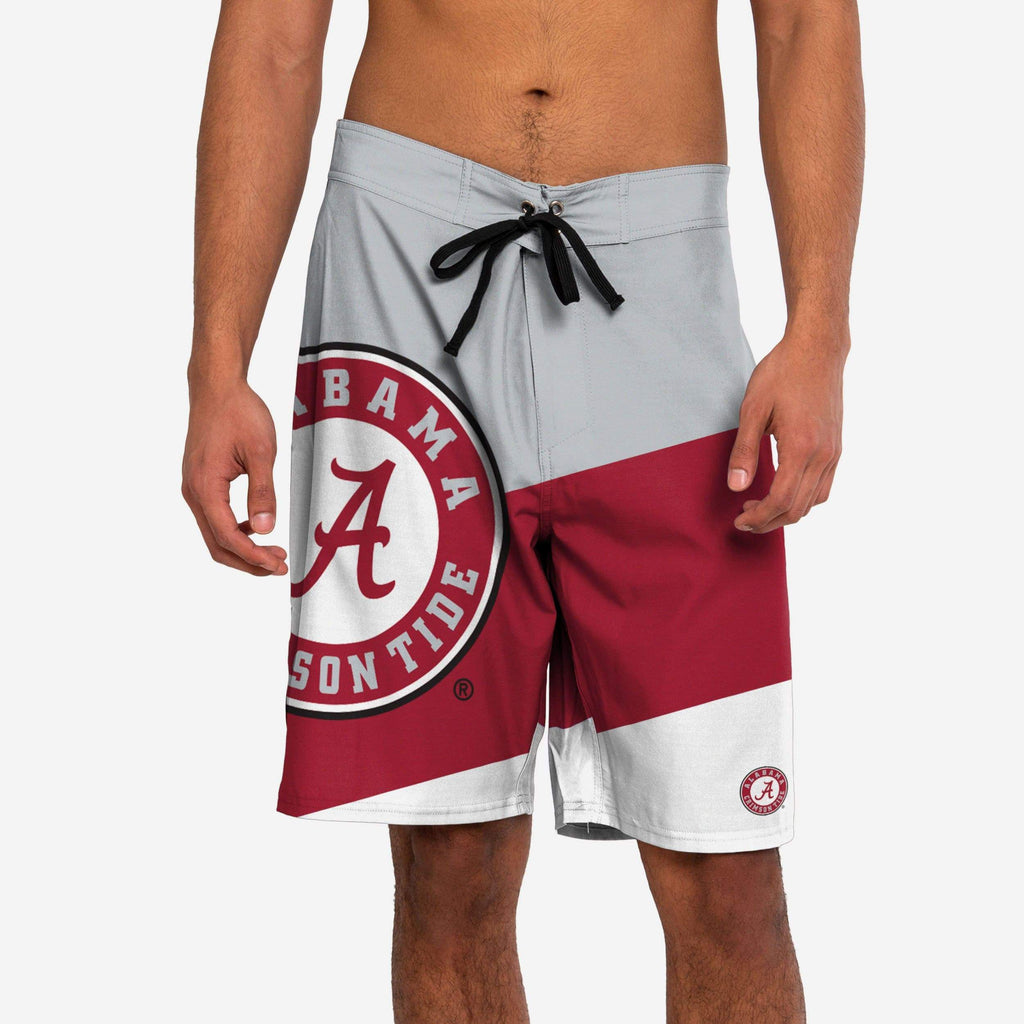 Alabama Crimson Tide Color Dive Boardshorts FOCO - FOCO.com