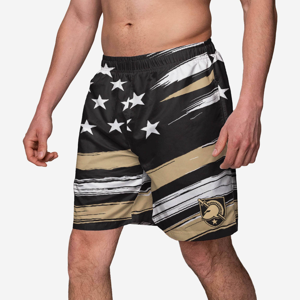 Army Black Knights Americana Swimming Trunks FOCO S - FOCO.com