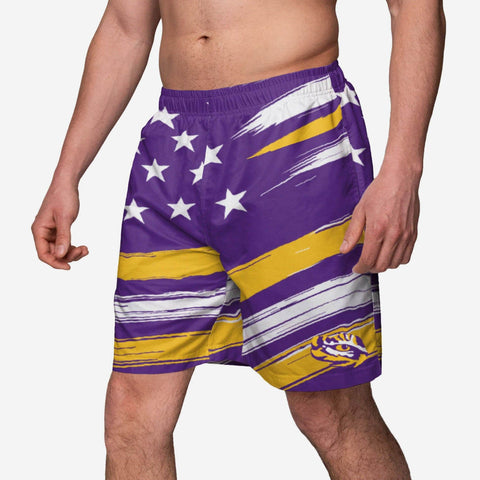 LSU Tigers Americana Swimming Trunks