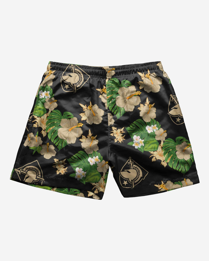 Army Black Knights Floral Swimming Trunks FOCO - FOCO.com