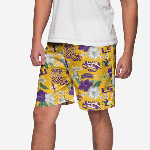 LSU Tigers City Style Swimming Trunks