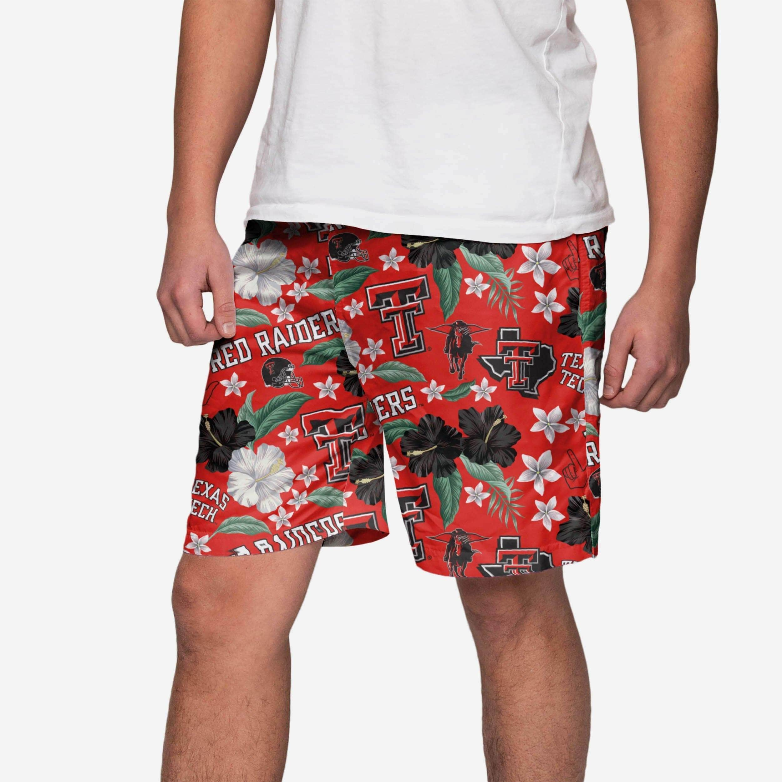 94dbf29367 Texas Tech Red Raiders City Style Swimming Trunks FOCO.com