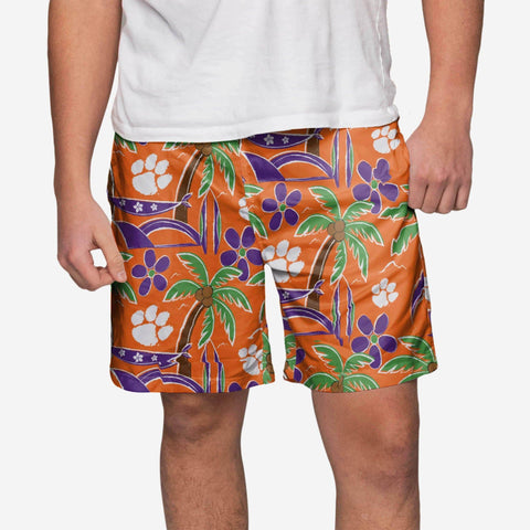 Clemson Tigers Tropical Swimming Trunks