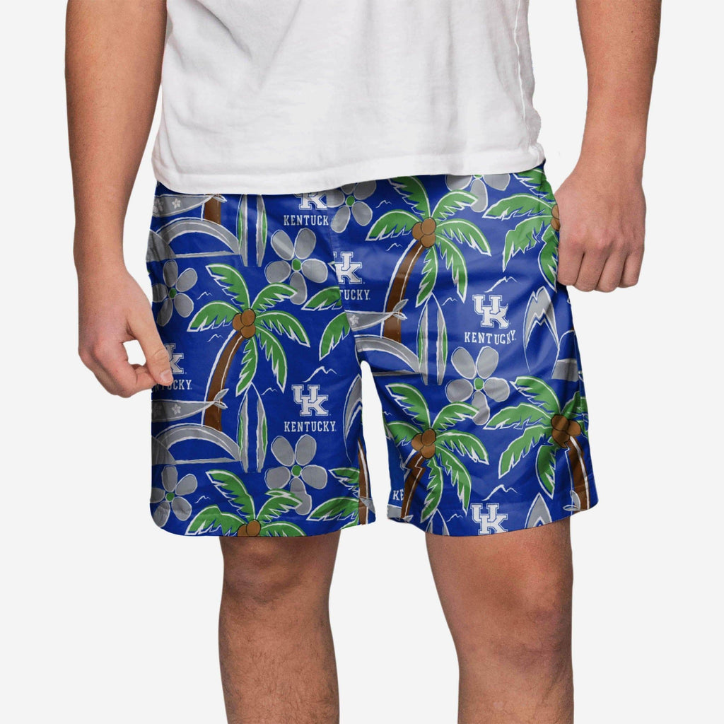 Kentucky Wildcats Tropical Swimming Trunks FOCO S - FOCO.com