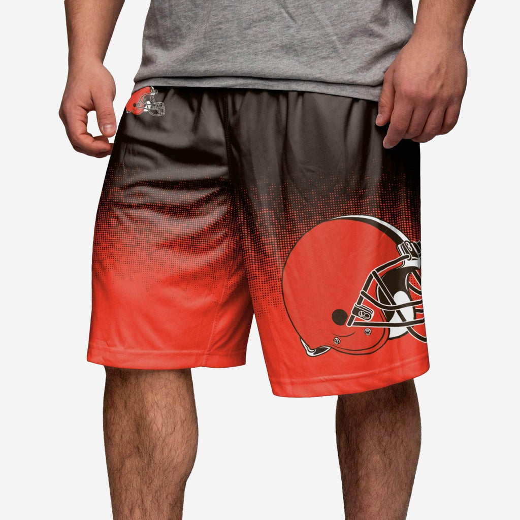 Cleveland Browns Gradient Polyester Short