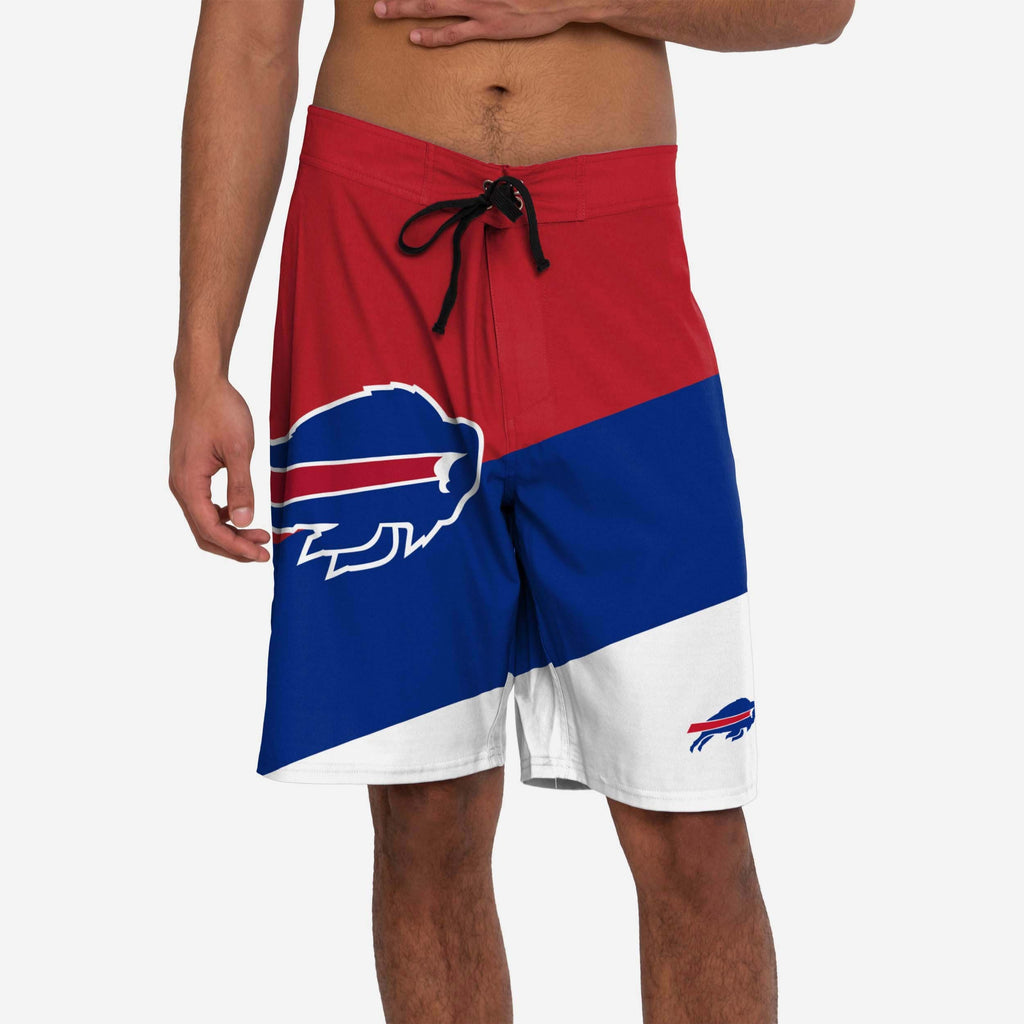Buffalo Bills Color Dive Boardshorts FOCO S - FOCO.com