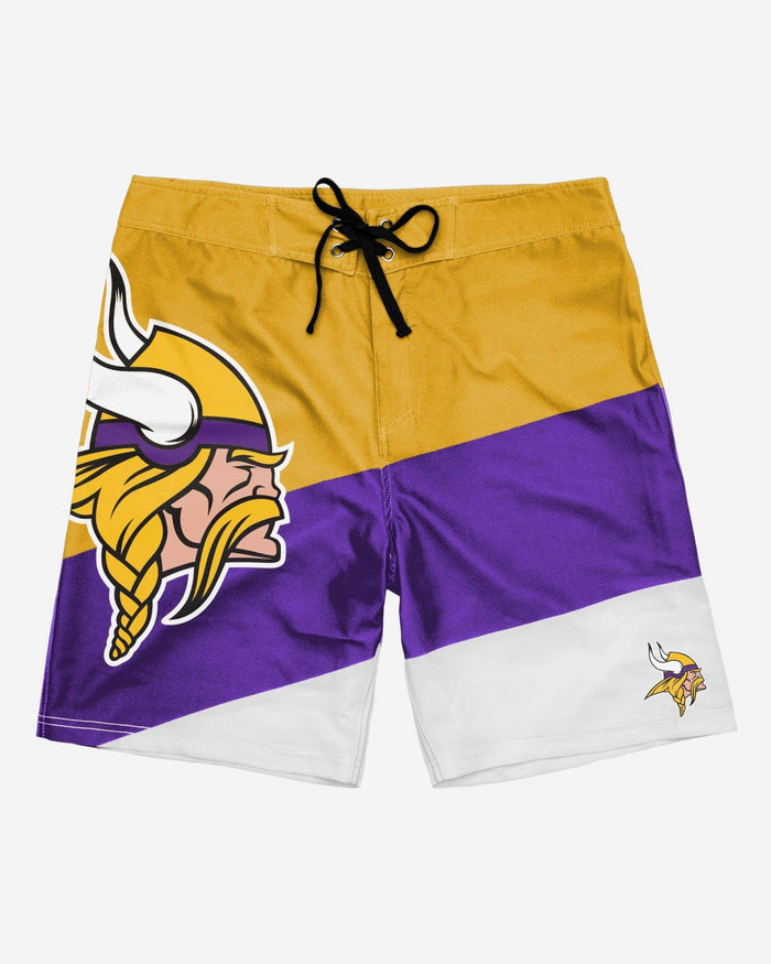 Minnesota Vikings Color Dive Boardshorts FOCO - FOCO.com