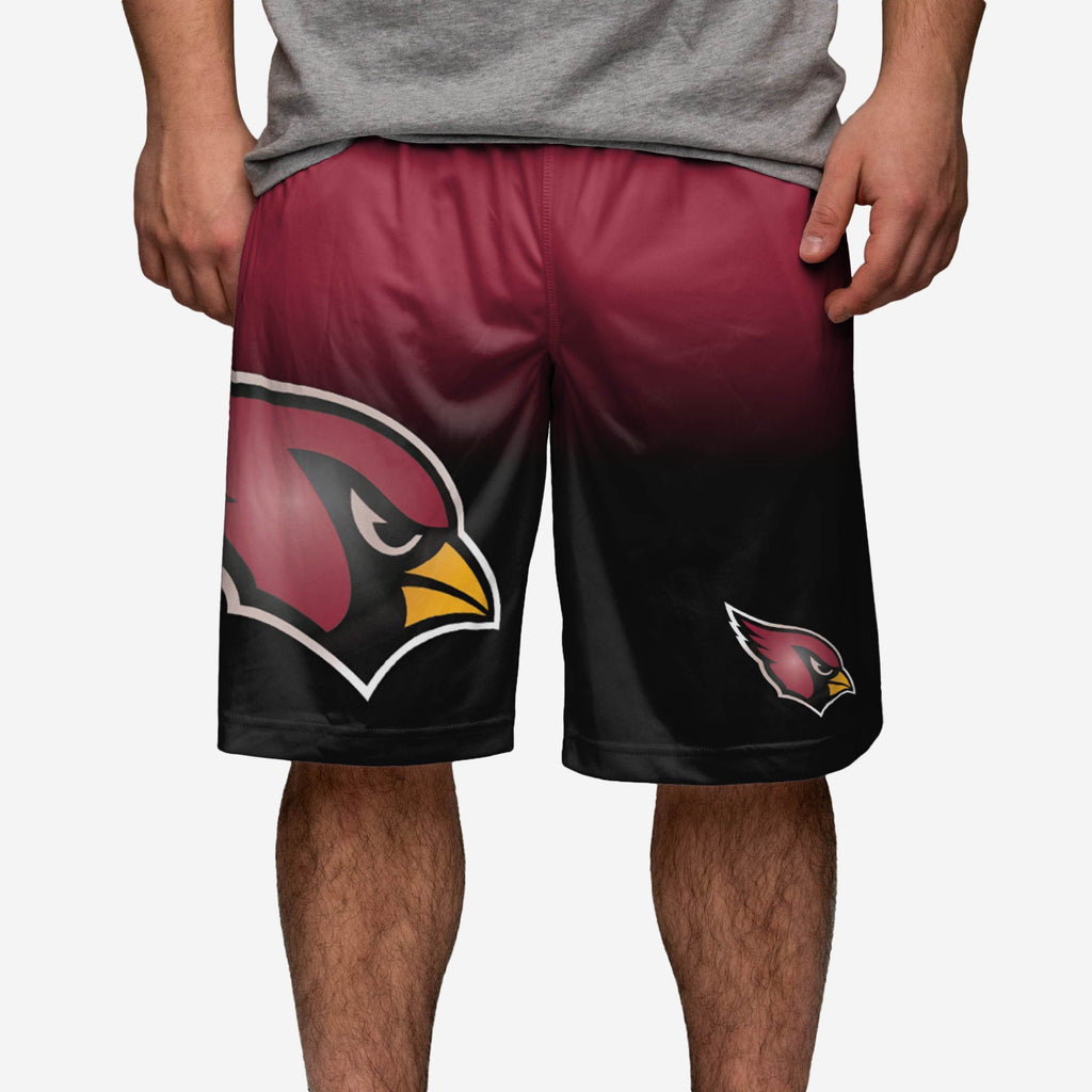 Arizona Cardinals Gradient Big Logo Training Short FOCO - FOCO.com